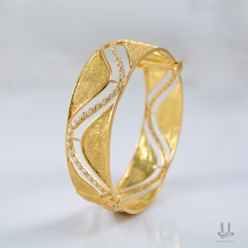 The Gold Dust Bangle