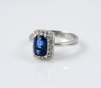 Statement Blue Ring