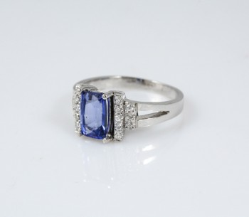 Blue Pillar Ring