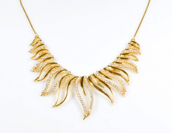 Flare Gold Necklace