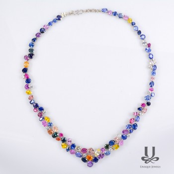 Total Sapphire Necklace