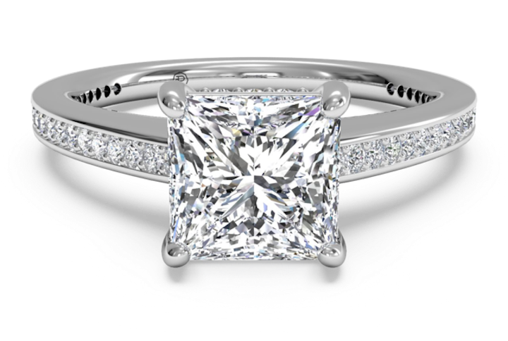 The Princess Cut Engagement Ring